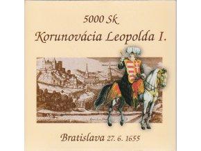 Zlaté mince 2005 / ZSK 12 / 5 000 Sk / Leopold I.