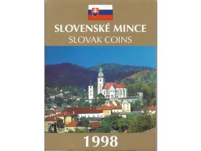 Mince SR 1998 / Sada obehových mincí Sk