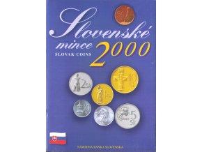 Mince SR 2000 / Sada obehových mincí Sk