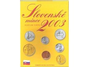 Mince SR 2003 / Sada obehových mincí Sk