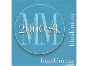 Ag Slovensko 2000 / MPSK 30 / Milénium 2000 Sk / Proof