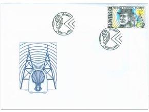 SR 1997 / 117 / 100 rokov bezdrôtovej telegrafie FDC