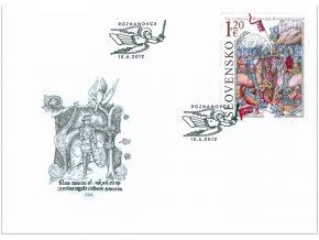 SR 2012 / 518 / 700. výročie Bitky pri Rozhanovciach FDC