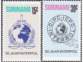 Surinam 0656 0657