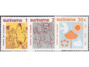 Surinam 0651 0653
