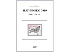 Albumové listy SR 2019 I