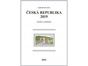 Albumové listy Česko 2019 I