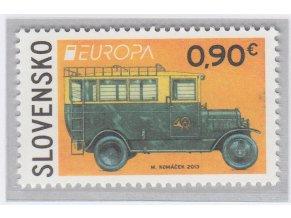 SR 2013 / 538 / EUROPA - Poštové vozidlo