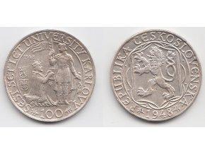 CSR II 044 100 Kčs 1948