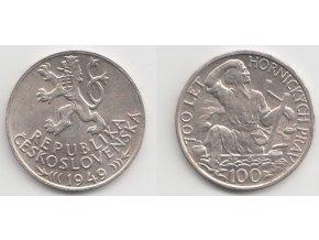 CSR II 047 100 Kčs 1949