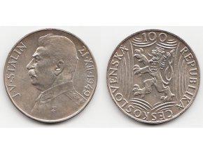CSR II 049 100 Kčs 1949