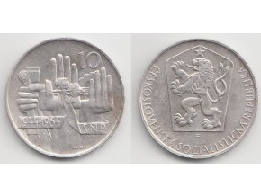 CSR II 108 10 Kčs 1964
