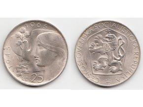 CSR II 109 25 Kčs 1965