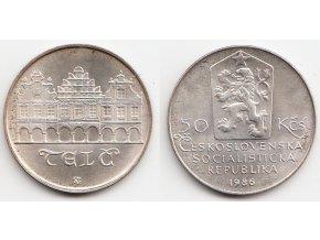 CSR II 165 50 Kčs 1986