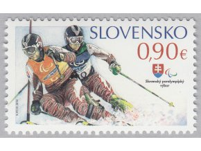 SR 557 XI. zimné paralympijské hry v Soči