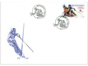 SR 2014 / 557 / XI. zimné paralympijské hry v Soči FDC