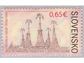 SR 2014 / 565 / Pocta pamiatke padlým v 1. sv. vojne
