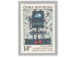 ČR 005 EUROPA - Moderné umenie