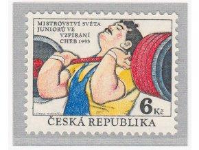 ČR 1993 / 008 / MS juniorov vo vzpieraní