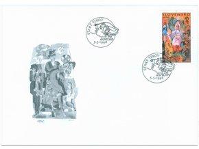 SR 1998 / 149 / EUROPA - Folklórne slávnosti FDC
