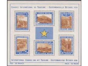 Belge Congo 179 184 Bl 2