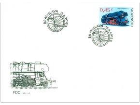 SR 586-587 Technické pamiatky FDC (2)
