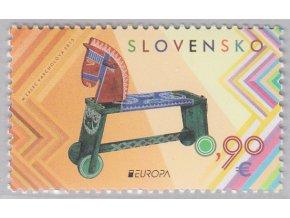 SR 2015 / 588 / EUROPA - Staré hračky