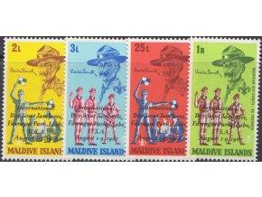 Maledivy 0285 0288