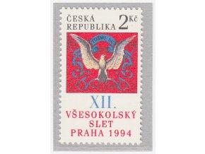 ČR 1994 / 047 / XII. Všesokolský zlet v Prahe