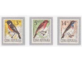 ČR 1994 / 049-051 / Spevavé vtáky