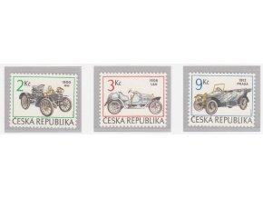 ČR 1994 / 053-055 / Historické autá