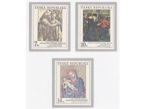 ČR 1994 / 057-059 / Umelecké diela na známkach