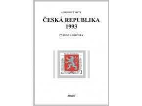 Albumové listy Česko 1993 I