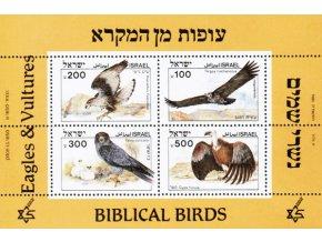 Izrael 0982 0985 Bl 27