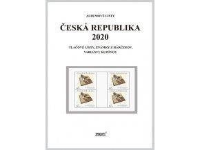 Albumové listy Česko 2020 II