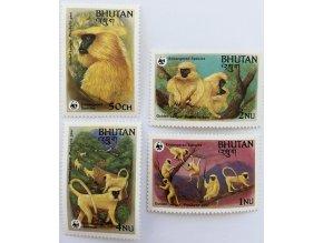 Bhutan 0840 0843