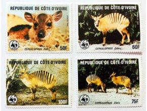 Cote Ivoire 0881 0884