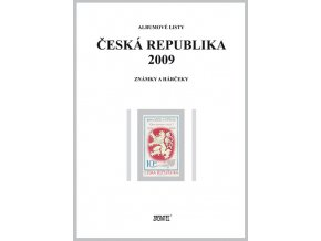 Albumové listy Česko 2009 I