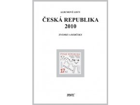 Albumové listy Česko 2010 I