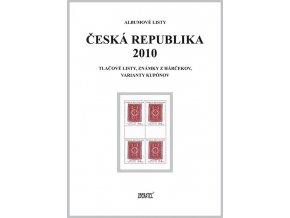 Albumové listy Česko 2010 II