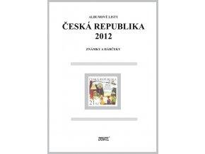 Albumové listy Česko 2012 I