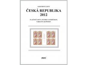 Albumové listy Česko 2012 II
