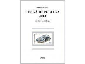 Albumové listy Česko 2014 I
