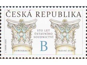 ČR 2020 / 1063 / 100. výročie od vzniku ústavného súdnictva