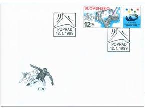 SR 1999 / 169 / 19. Svetová univerziáda a 4. EYOD FDC