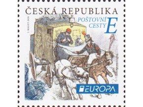 ČR 2020 / 1070 / EUROPA: Poštové cesty