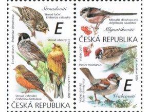 ČR 2020 / 1083-1084 / Spevavé vtáky III.