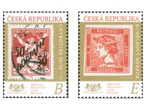 ČR 2020 / 1089-1090 / Poklady svetovej filatelie