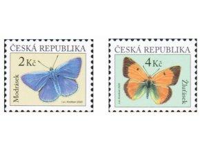 ČR 2020 / 1093-1094 / Motýle