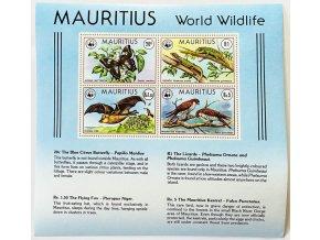 Mauritius 0463 0466 Bl 8